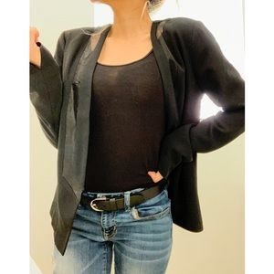 Open Front Blazer Jacket